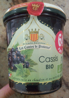 Confiture cassis bio - Product