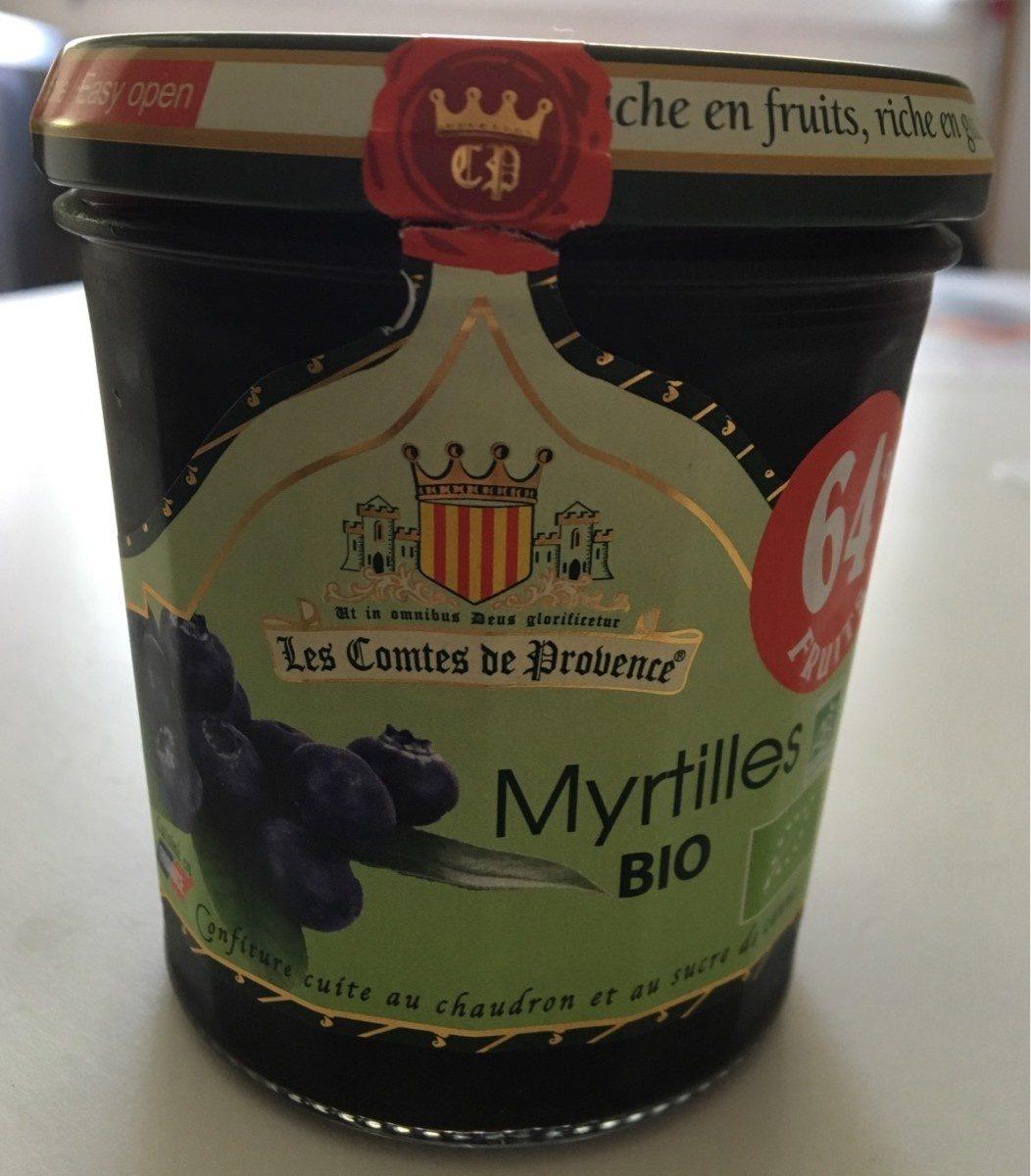 Confiture Myrtilles Bio - Product