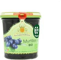 Confiture de Myrtille BIO 350g - Prodotto - fr