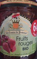 Confiture Fruits Rouges BIO - Produit - fr
