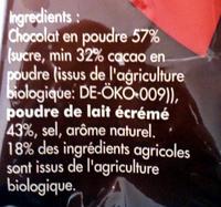 Chocky - Ingrédients - fr