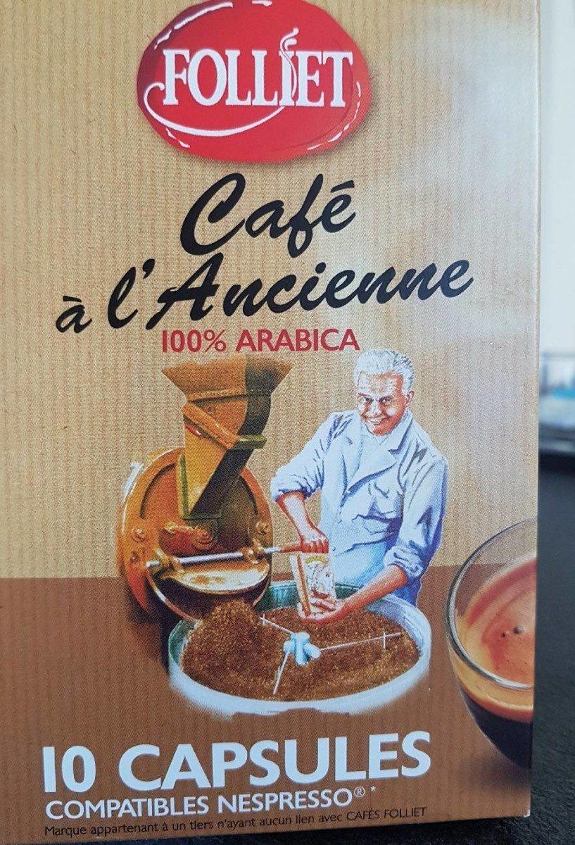 Capsules de cafe a l'ancienne - Prodotto - fr