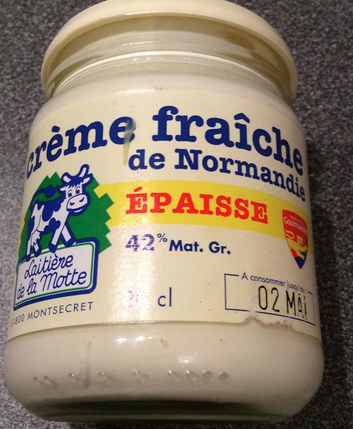 Crème fraîche de Normandie épaisse - Product