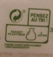 Noix de coco rapée, sachet - Instruction de recyclage et/ou information d'emballage - fr