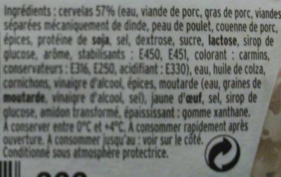 Salade de cervelas Rémoulade - Ingrédients