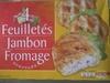 4 Feuilletés Jambon Fromage, Surgelés - Produit