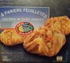 4 Paniers Feuilletés aux Noix de Saint-Jacques*, Surgelés - Produit