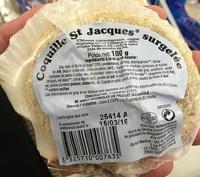 Coquille St Jacques* surgelée - Produit - fr