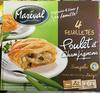 4 Feuilletés Poulet et Champignons surgelés - Product