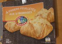 4 Paniers Feuilletės aux 3 Fromages - Produit