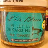 Rillettes de Sardines aux Tomates - Produit
