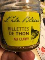 L'ile bleu Rillettes de thon au curry - Produit - fr