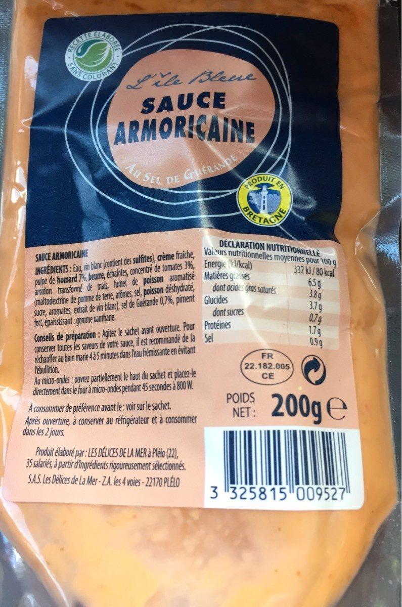 Sauce armoricaine - Product - fr