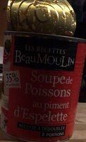 Soupe de poissons au piment d espelette - Producto - fr