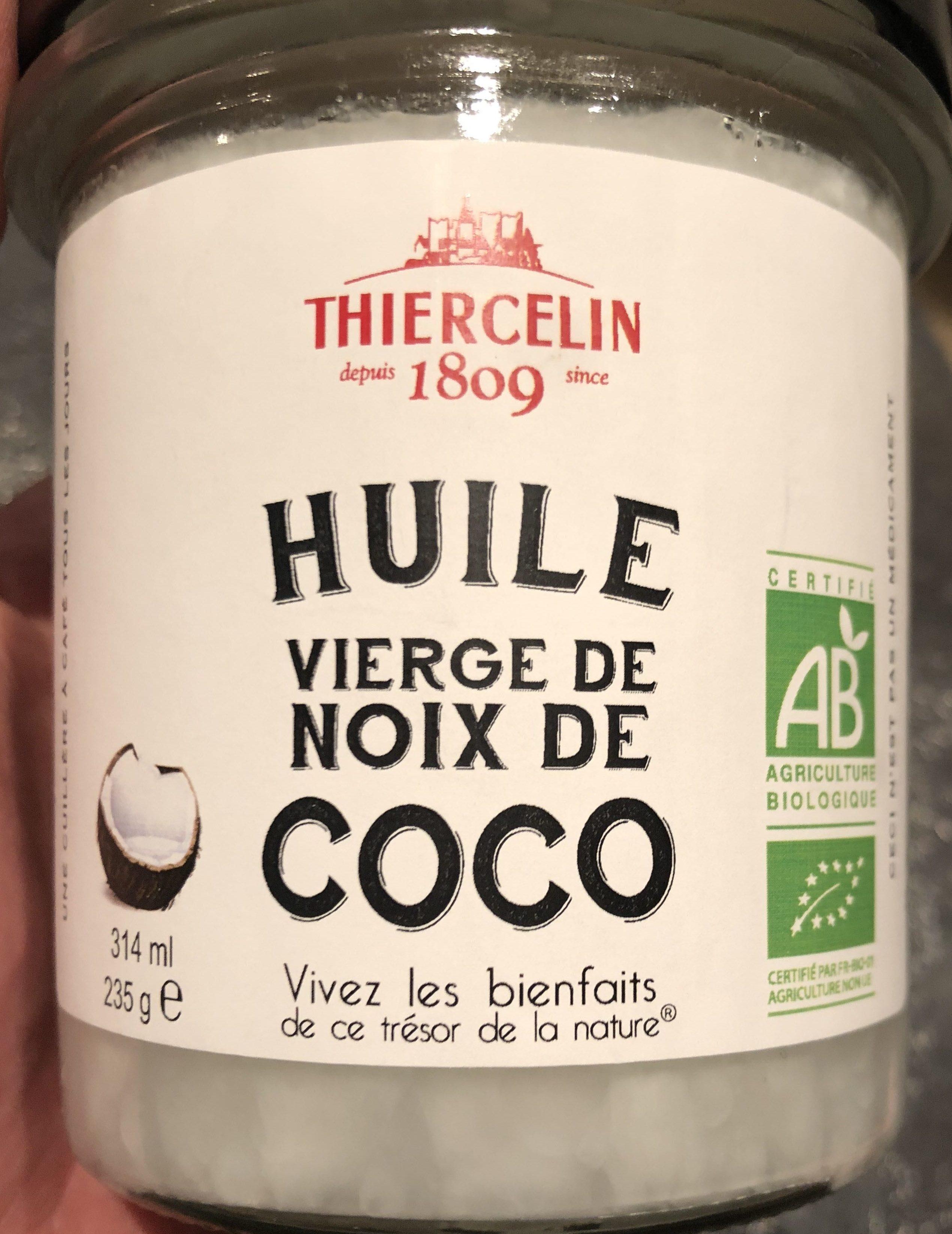huile de noix thiercelin