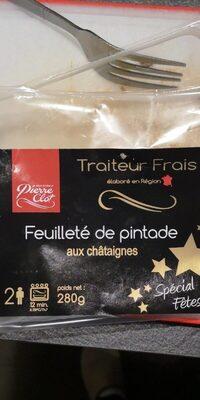 Feuilleté pintade châtaigne - Nutrition facts - fr