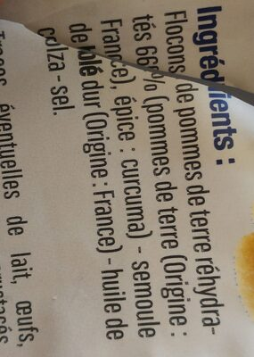 Gnocchis à poêler - Ingredientes - fr