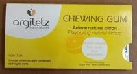 Chewing Gum Arôme Naturel Citron - Produit