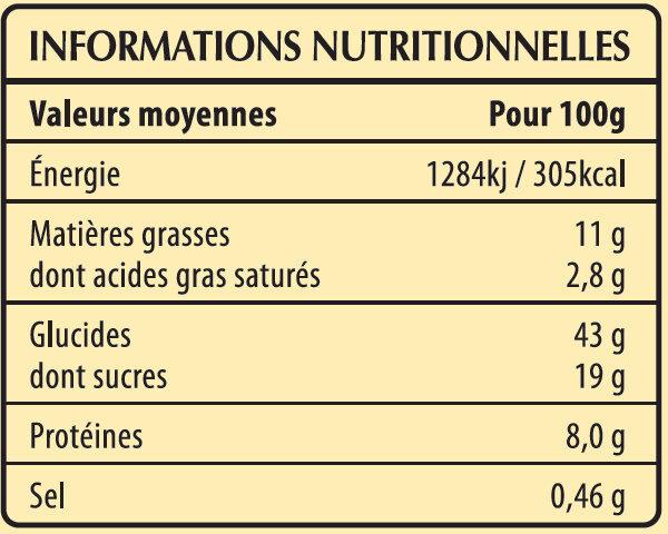 6 Crêpes de Froment aux Oeufs de Plein Air en sachet - Nutrition facts