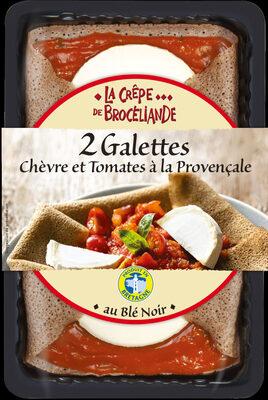 2 Galettes Chèvre Affiné et Tomates à la Provençale - Product - fr