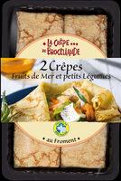 2 crêpes Fruits de Mer et petits Légumes - Product