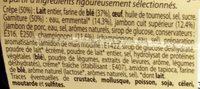 2 Ficelles Picardes - Ingrédients - fr