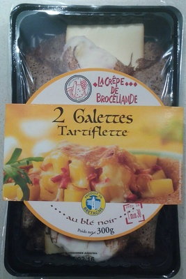 2 Galettes Tartiflette - Produit