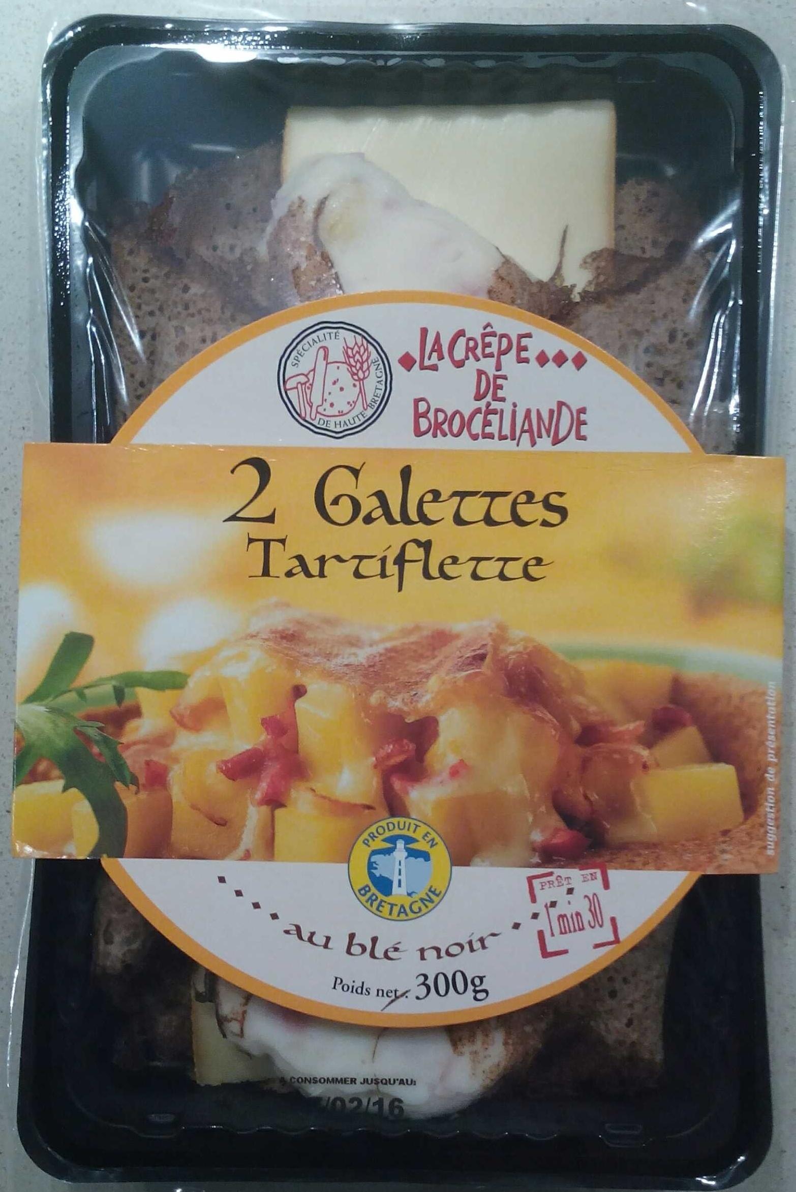 2 Galettes Tartiflette - Produit - fr
