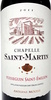 Chapelle Saint-Martin 2011 - Product