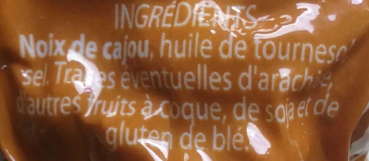 Noix de Cajou grillées salées - Ingrediënten