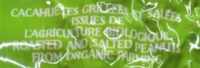 Cacahuètes Bio - Ingrédients - fr