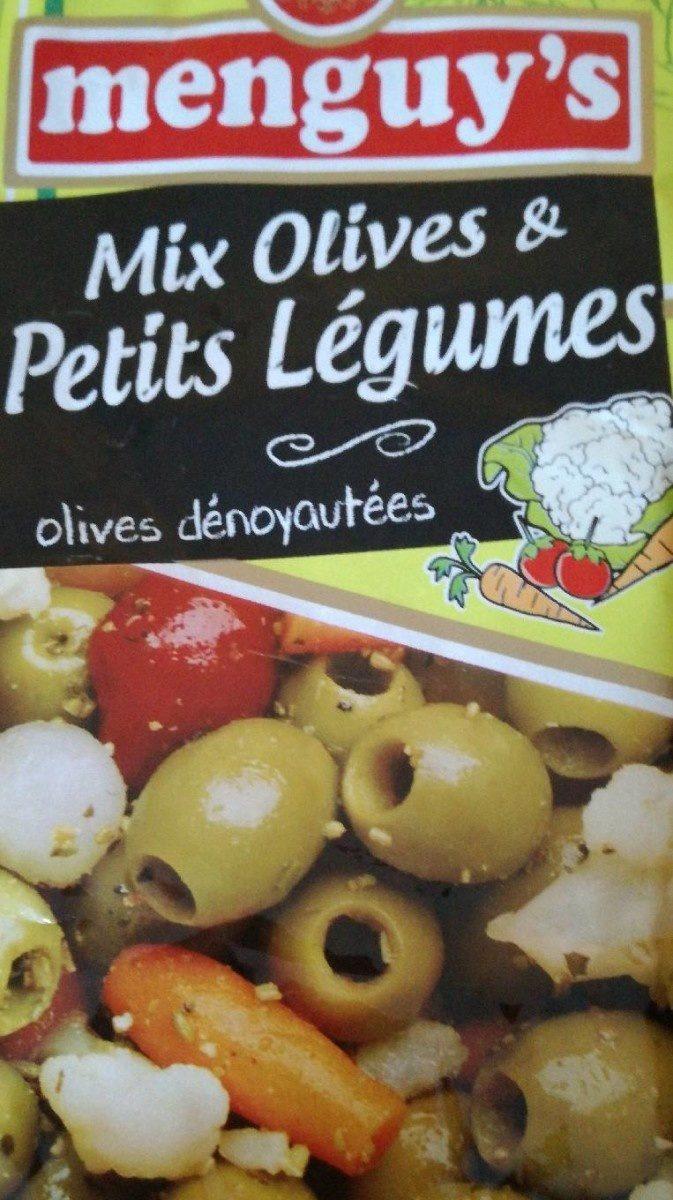 Mix olives & petits légumes - Product
