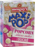 Popcorn micro-ondes sucré - Prodotto - fr