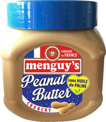 Beurre de cacahuètes crunchy sans huile de palme - Prodotto - fr