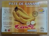 Pâte de banane - Produit