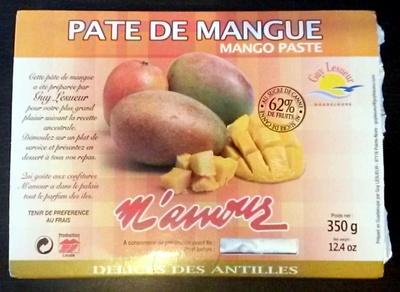 Pâte de mangue - Product