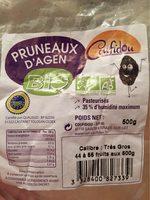 Pruneau d'Agen Bio - Product - fr