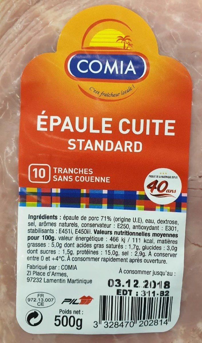 Épaule cuite standard - Product