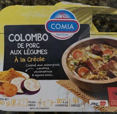 Colombo de porc aux legumes a la creole - Produit