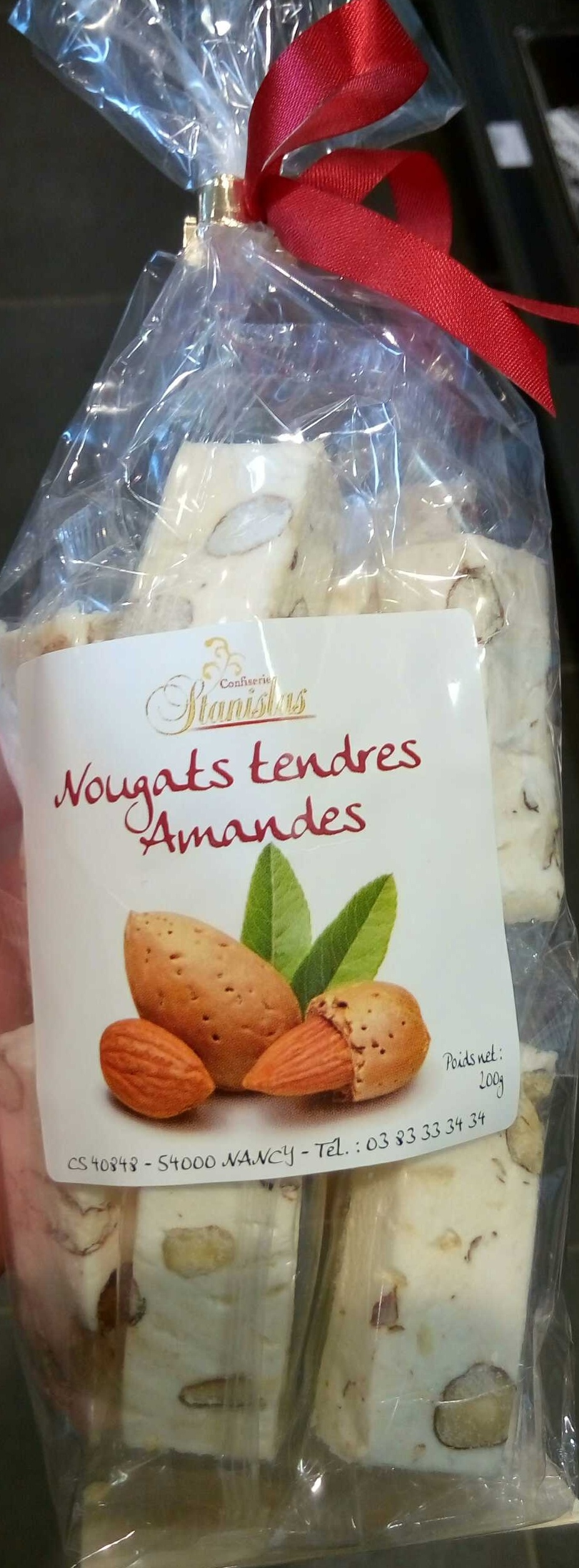Nougats tendres Amandes - Product