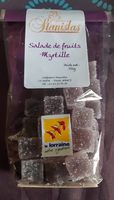 "Bonbons ""Salade de fruits myrtille"" - Product"