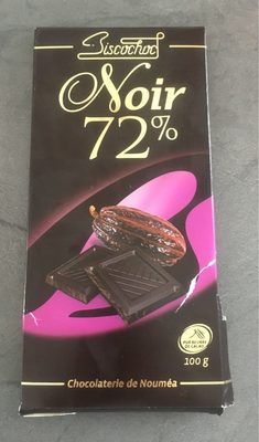 Chocolat noir 72% - Product