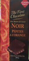 Noir pepites a l'orange - Produit - fr