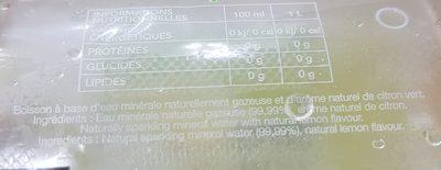Didier citron - Ingrediënten