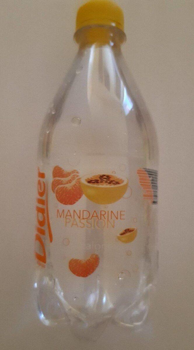 Mandarine passion - Nutrition facts - fr