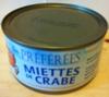 Miettes de crabe - Produit