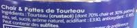 Tourteau Chair et Pattes - Ingrediënten