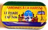 Sardines à la harissa - Produit