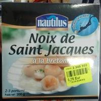 Noix de Saint Jacques à la bretonne - Produit