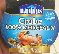 Crabe 100% Morceaux - Produit
